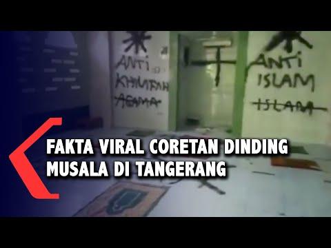 fakta viral coretan dinding musala di tangerang