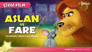 Aslan ve Fare çizgi film masal 30 - Adisebaba Çizgi Film Masallar