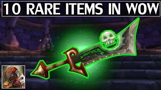 10 Very Rare & Unique Items In WoW (Including Unobtainables)
