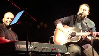 """Johnny Reid - """"Fire It Up"""" - CCMA 2015 Songwriter's Circle - Halifax, NS"""