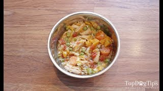 Homemade Dog Food for Puppies Recipe (for Slow Cookers)