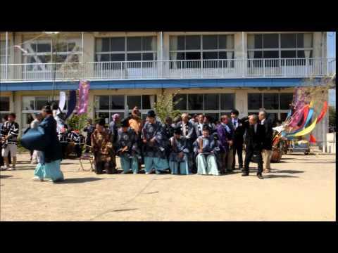 例大祭、久之浜第一小学校