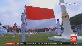 Full - Pengibaran Bendera Sang Saka Merah Putih di Istana Merdeka