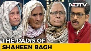 Left, Right & Centre   At Delhi's Shaheen Bagh, 'Dadis' Unite Against Citizenship Law