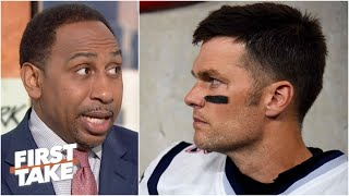 Stephen A. expects Tom Brady to stay with the Patriots | First Take