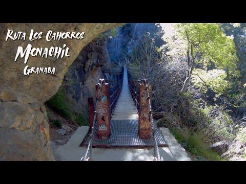 Ruta Los Cahorros - Monachil (Granada) GitUp2