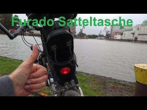 Fahrrad Satteltasche Furado Anbau und Test Review Fahrradtasche