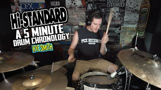 Hi-Standard: A 5 Minute Drum Chronology - Kye Smith [4K]