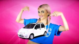 Beauty Ksu - белая машина. Музыкальный юмористический клип