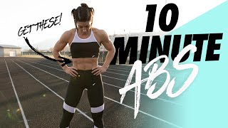 10 MINUTE EVERYDAY ABS (Follow Along Workout)