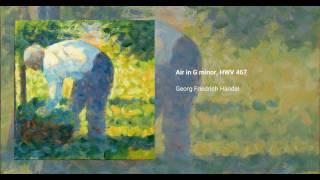 Air in G minor, HWV 467