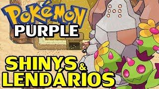 Maractus  - (Pokémon) - Pokémon Purple (Detonado - Parte 44) - Regirock e Maractus Shiny