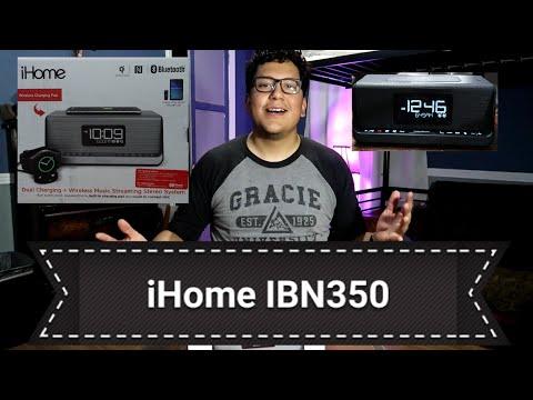 CES 2018 - iHome Wireless Charging Dual Alarm Clocks - смотреть