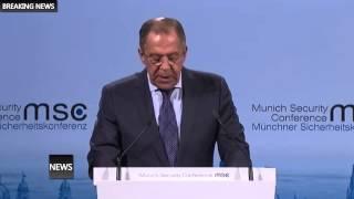 Сергей Лавров ЗАПАД хочет войны на Украине и всё для этого делает!!!