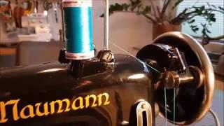 Naumann 65 - Vollmetall-Zickzack-Nähmaschine von 1952