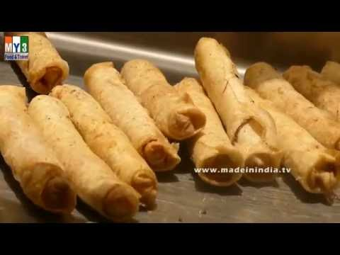How to Make Spring Rolls | Veggie Spring Roll | Chinese Appetizer Recipe |