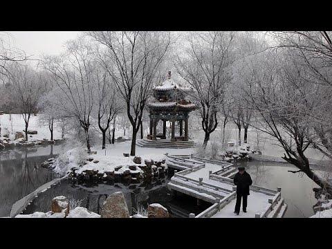 H μαγεία του χιονιού στην Κίνα
