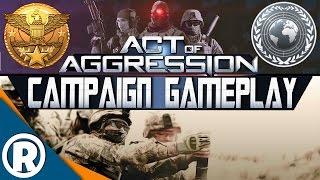 video đầu tiên về campaign của game Act of Aggression. Quân đội trong...