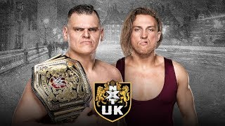 WALTER battles Pete Dunne for the WWE UK Title in Glasgow this weekend