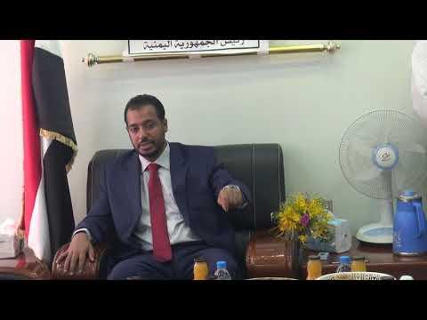 بالفيديو : وزير التربيةوالتعليم يباشر مهامه من ديوان الوزارة
