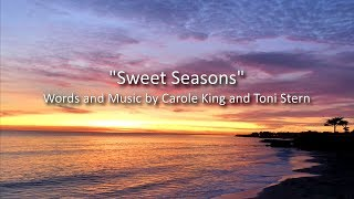 Sweet Seasons (Letra) - Carole King (Video)