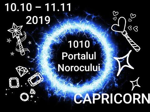 CAPRICORN - Portalul Norocului - 10.10.2019-11.11.2019