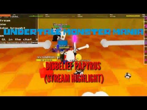 Disbelief Papyrus Fight