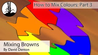 Mixing Browns in Acrylic Paints