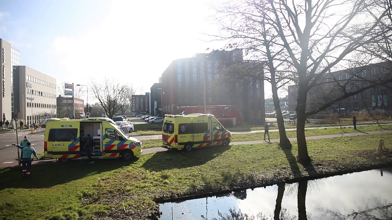 01-03-21 Alweer grote brand in wooncomplex, Heuvellaan (Gouda) – Spoedjes