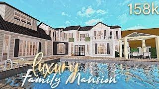 Bloxburg: Luxury Vacation Family Mansion 154k (20K SPECIAL)