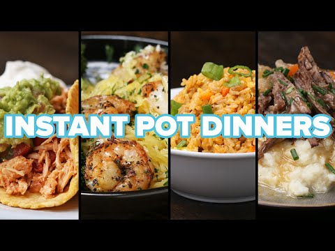 4 Easy Instant Pot Dinners
