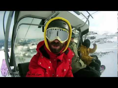 Zell Am See, Kaprun Snowboarding. Snowboard Realms se5 ep3