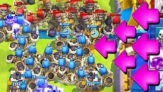 20+ GIANT SKELETONS  Clash Royale  NEW UPDATE IS AMAZING
