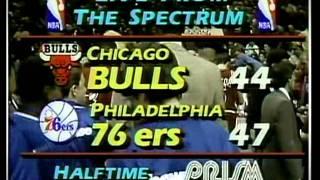 Michael Jordan: 49 pts vs Sixers 3/11/87