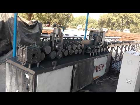 Ribbed TMT Wire Straightening Machine