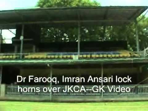 Dr Farooq, Imran Ansari lock horns over JKCA