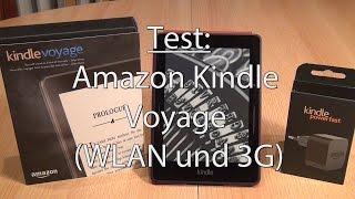 Test: Kindle Voyage WLAN und 3G von Amazon - Caulius probiert es aus
