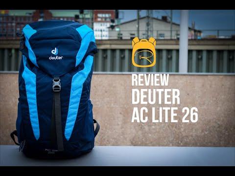 Deuter AC Lite 26 - Review auf Deutsch - Rucksack Test