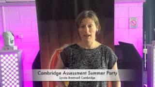 Cambridge Assessment Party