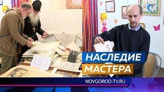 Сын известного старорусского художника Василия Ушакова передал в музей работы отца