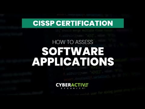 CISSP EXAM TIPS: How To Test Software Applications - YouTube
