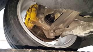 Porsche 911 C4S 996 Undercarriage Inspection