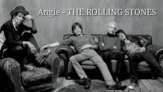 The ROLLING STONES - Angie (Official HQ) Lyrics Video