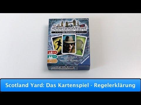 Scotland Yard: Das Kartenspiel [Ravensburger] - Regelerklärung