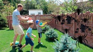 Битва с пауками / Нападение пауков