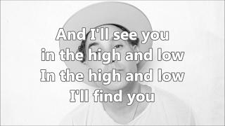 Joshua Radin - High And Low (Lyrics Video)