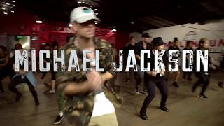 Gambar cover Michael Jackson - Threatened Choreography By Anze