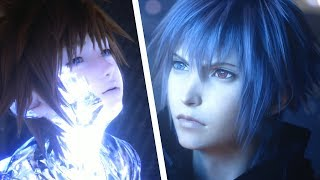 Kingdom Hearts 3 ReMind DLC - All Endings + Final Boss & True Ending