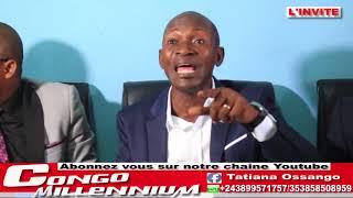 CONFERENCE DE PRESSE SUR L'ARRESTATION D'ELIEZER TAMBWE, TO LANDA DANIEL SAFU , 04/04/2018