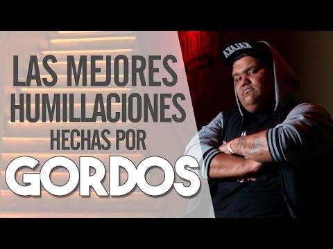 ¡Les Dijeron Gordos y Terminaron Humillados!- Las Mejores HUMILLACIONES De GORDOS En Batallas De Rap